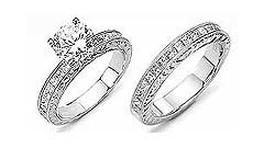 Matching Bands with Diamond Rings
