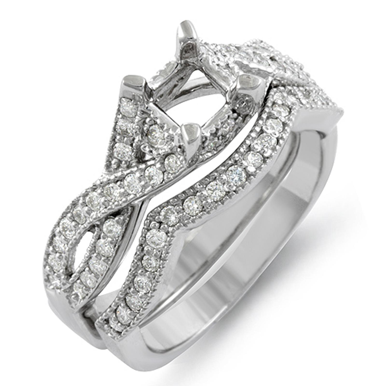 Awesome Halo Wedding Rings Jared